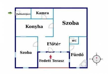 Kiskunfélegyházai családi ház eladó, 80 négyzetméteres