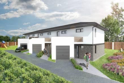 Eladó 4 szobás új építésű sorház Pécs, Deák Ferenc utca