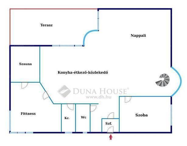 Eladó családi ház Csömör a Középhegy utcában, 2+3 szobás