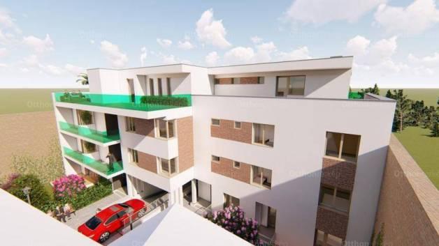 Debreceni új építésű lakás eladó, 65 négyzetméteres, 2 szobás