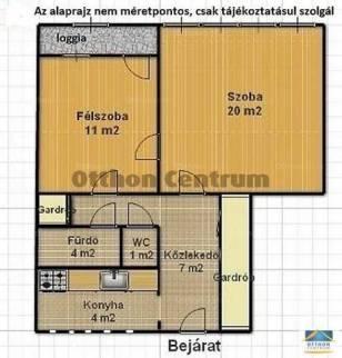 Eladó 2 szobás lakás Felsőrákoson, Budapest, Gyakorló utca