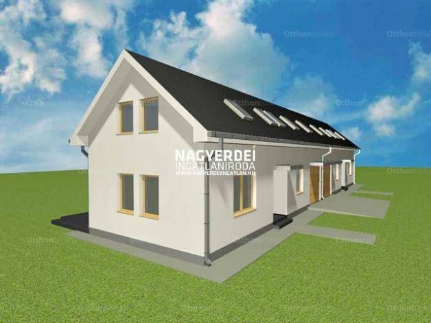 Új Építésű eladó ikerház Debrecen, 4 szobás