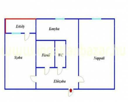 Eladó lakás, Székesfehérvár, 2 szobás