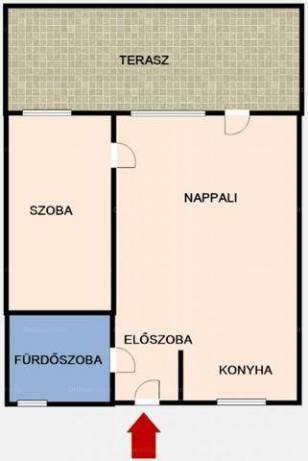 Eladó lakás Lágymányoson, XI. kerület Karinthy Frigyes út, 1+1 szobás