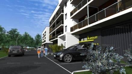 Szombathelyi eladó lakás, 2 szobás, új építésű