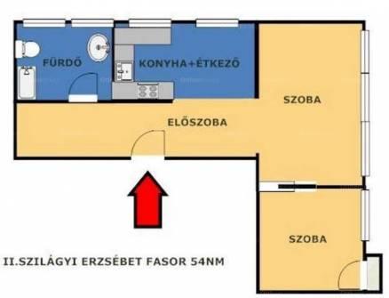 Eladó 2 szobás lakás Pasaréten, Budapest, Szilágyi Erzsébet fasor