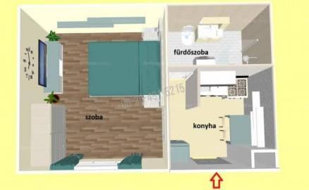 Eladó lakás Vízivárosban, I. kerület Batthyány utca, 1 szobás