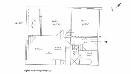 Eladó lakás, Székesfehérvár a Cserepes közben 13-ban, 2 szobás