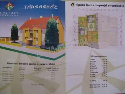 Új Építésű lakás eladó Eger, a Ráchegy utcában, 65 négyzetméteres