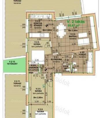 Új Építésű eladó lakás Balatonföldvár, 4 szobás