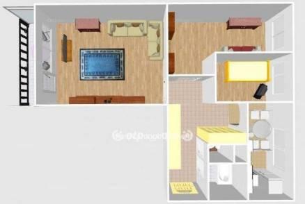 Kiskunhalasi eladó lakás, 2+1 szobás, 63 négyzetméteres