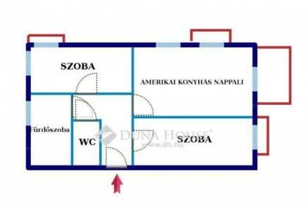 Eladó 1+2 szobás lakás Alsórákoson, Budapest, Álmos vezér park