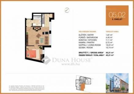 Eladó 1+1 szobás új építésű lakás Óbudán, Budapest, Vörösvári út