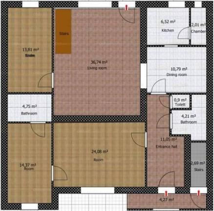 Eladó családi ház, Budapest, Angyalföld, Vőlegény utca, 8+1 szobás