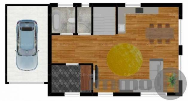 Eladó ikerház Budapest, 1+4 szobás, új építésű