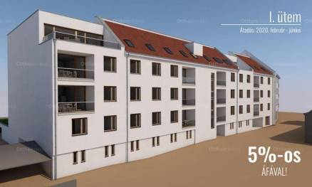 Nagykanizsa új építésű, 3 szobás