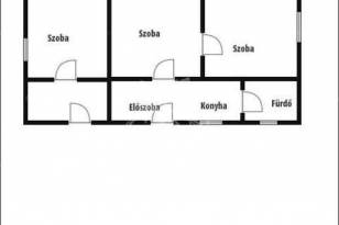 Kecskeméti eladó családi ház, 3 szobás, 85 négyzetméteres