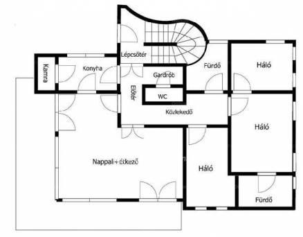 Budapesti új építésű lakás eladó, 140 négyzetméteres, 4 szobás