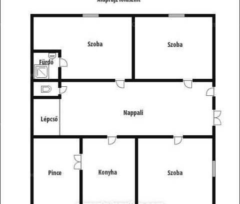 Balatonendréd eladó családi ház