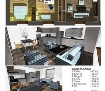 Nagycenk 3 szobás lakás eladó