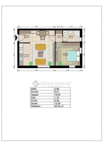 Páty eladó új építésű lakás a Levendula utcában