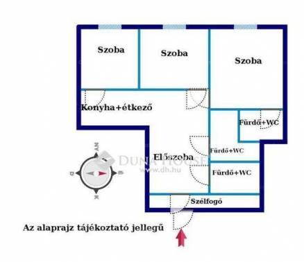 Eladó lakás Erzsébetvárosban, VII. kerület, 1+2 szobás