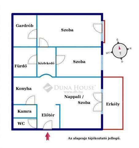 Eladó 2+1 szobás lakás Angyalföldön, Budapest, Pap Károly utca