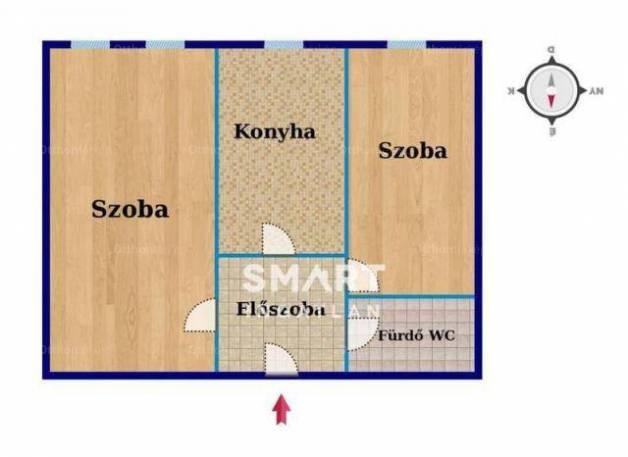 Eladó 1+1 szobás lakás Pécs