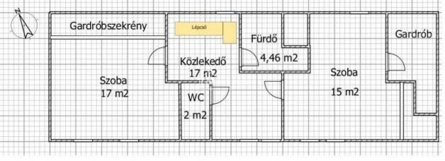 Budapesti lakás eladó, 140 négyzetméteres, 4 szobás