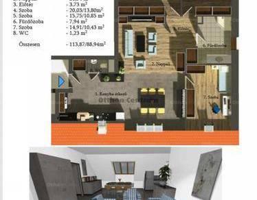 Eladó, Nagycenk, 3 szobás
