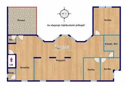Eladó lakás, Budapest, Krisztinaváros, Logodi utca, 4 szobás