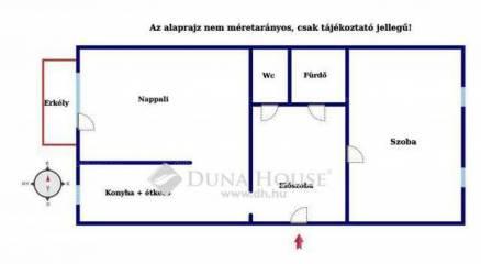 Budapest eladó lakás, Rákoskeresztúr, Borsó utca, 54 négyzetméteres
