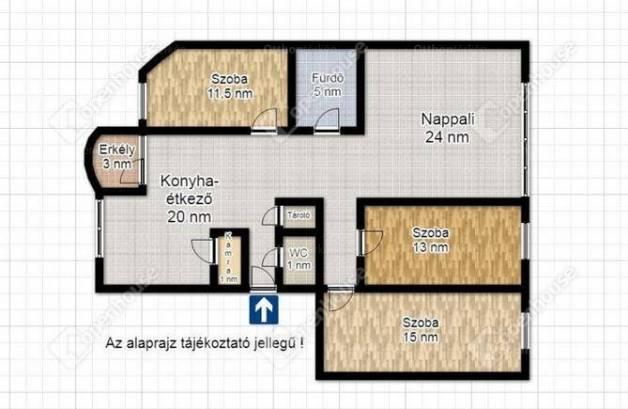 Kiadó lakás, Szeged, 2 szobás
