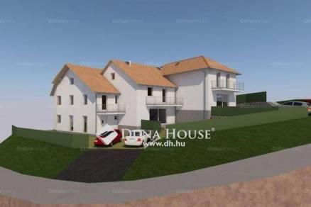Pécs új építésű ikerház eladó, 3 szobás