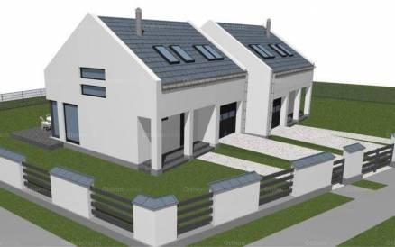 Ostoros 1+3 szobás új építésű ikerház eladó