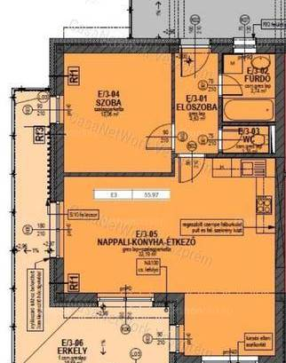Eladó lakás, Alsóörs, 2 szobás