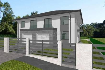 Új Építésű eladó ikerház, Budapest, Felsőrákoson, 130 négyzetméteres