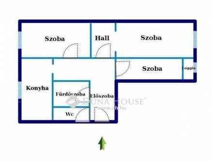 Eladó 1+2 szobás lakás Tatabánya