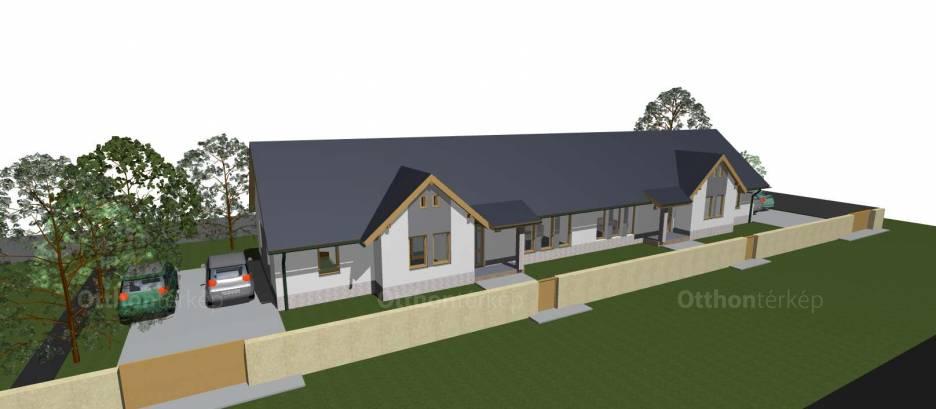 Új Építésű eladó ikerház Tura, Köztársaság utca, 3+1 szobás