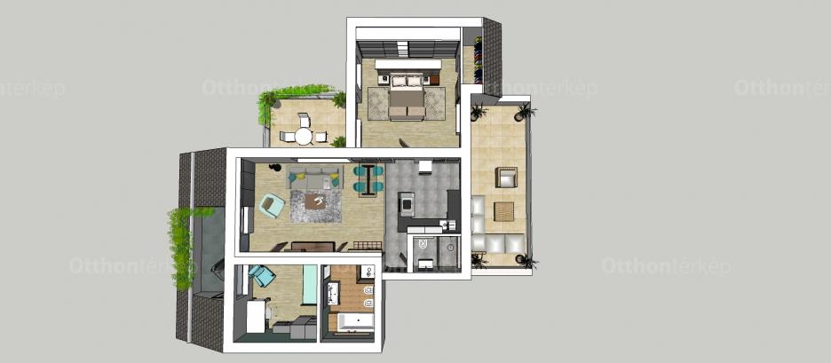 Budapesti lakás eladó, Herminamezőn, Gyarmat utca, 2+1 szobás