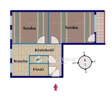 Eladó 2 szobás Székesfehérvár a Rádió utcában
