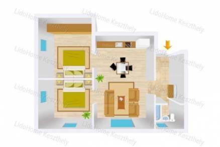 Eladó 3 szobás lakás Tapolca