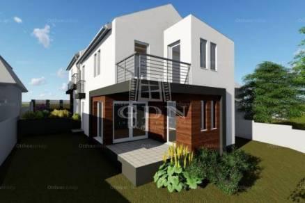 Budapest új építésű ikerház eladó, 3+1 szobás