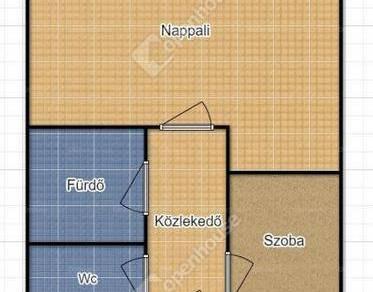 Kiadó albérlet, Szeged, 2 szobás