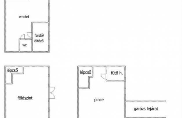 Budapest eladó családi ház Erdőskertben a Benjámin utcában, 360 négyzetméteres