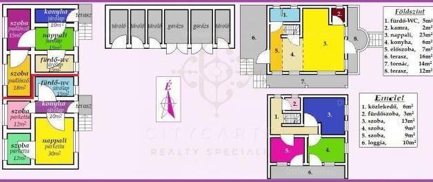 Eladó 8+2 szobás családi ház Dunaföldvár
