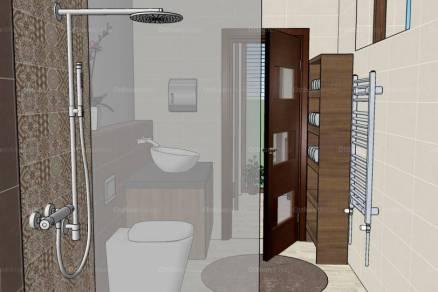 Új Építésű eladó ikerház Szeged, 5 szobás