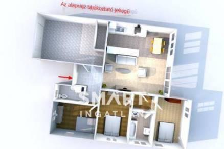 Eladó új építésű ikerház Érd, 3+1 szobás