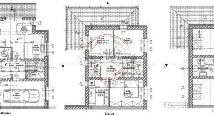 Új Építésű eladó ikerház Szeged, 3+3 szobás