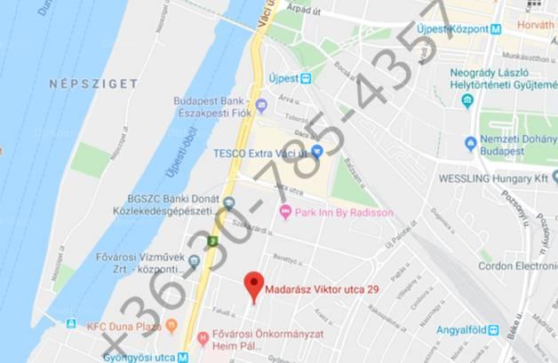 Budapest, XIII. kerület Madarász Viktor utca 29-35.